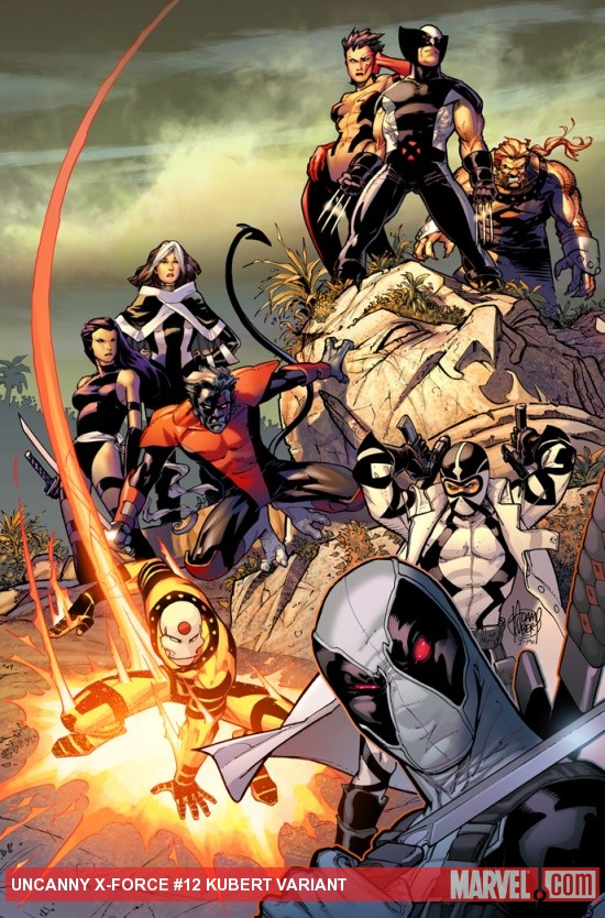 Uncanny X-Force #12 variant cover by Adam Kubert