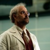 Stanley Tucci stars as Abraham Erskine in Captain America: The First Avenger