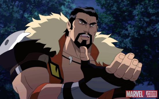 Kraven the Hunter sets his sights on Ultimate Spider-Man