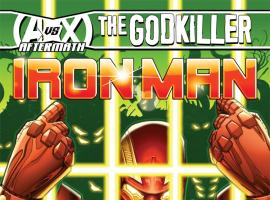 cover from Iron Man (2012) #7