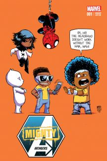 Mighty Avengers #1  (Young Variant)