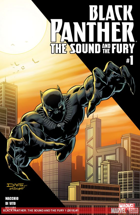 Black Panther: The Sound and The Fury (2018) #1