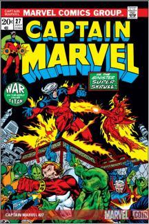 Captain Marvel (1968) #27