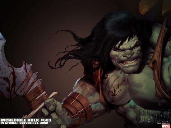 Incredible Hulks (2009) #603 Wallpaper