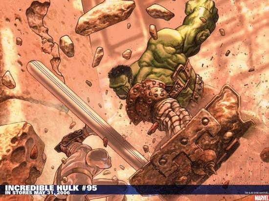 Incredible Hulk (1999) #95 Wallpaper