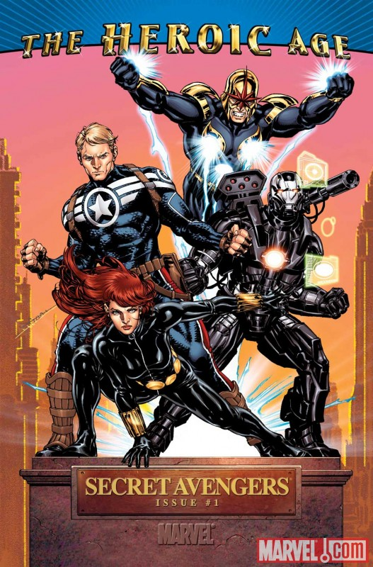 Image Featuring Avengers, Black Widow, Captain America, Nova