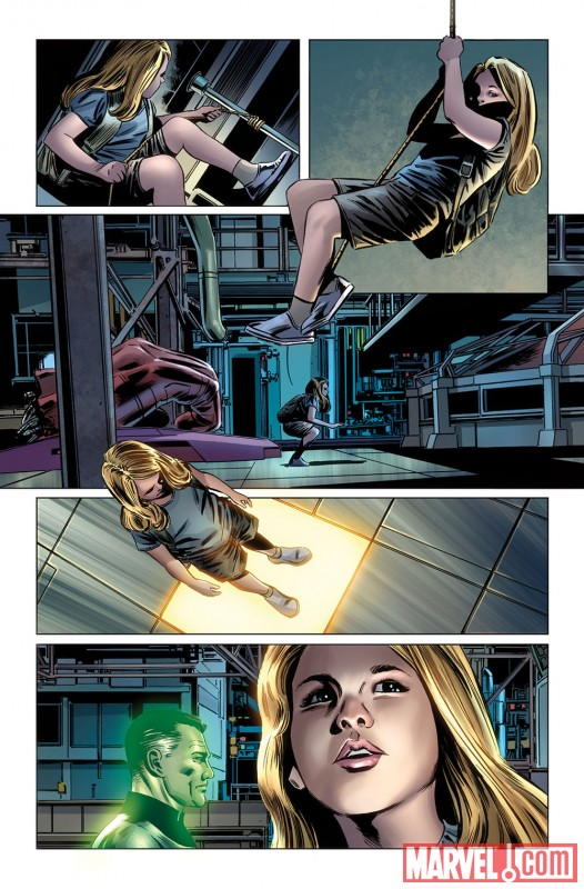 Fantastic Four #583 preview art by Steve Epting