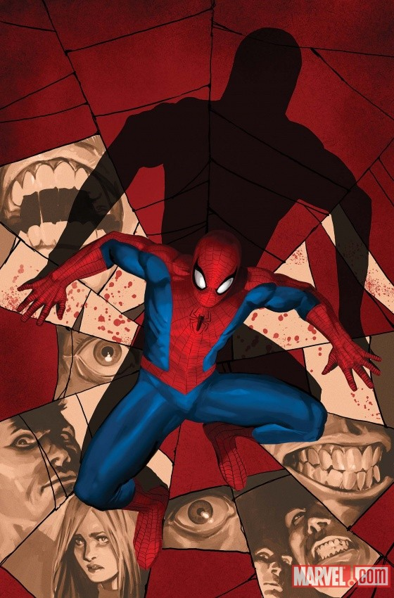Fear Itself: Spider-Man #1 cover by Marko Djurdjevic