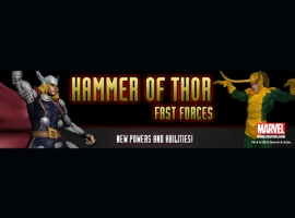 Heroclix Online Releases Hammer of Thor