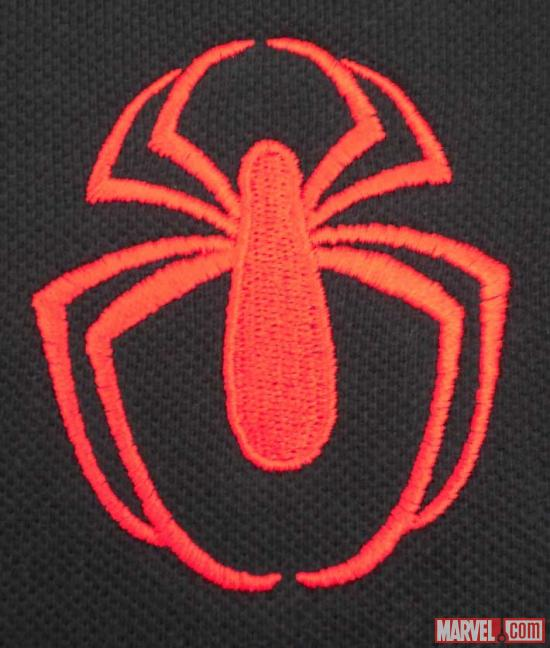 Ultimate Spider-Man logo close-up from WeLoveFine