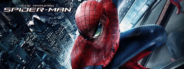 Новый постер и стенд фильма The Amazing Spider-man