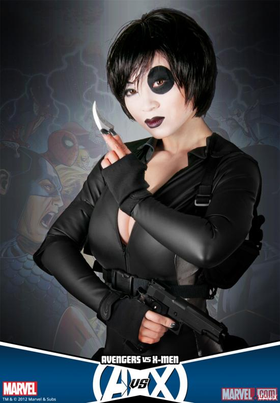 Marvel Cosplay Heroes: Domino