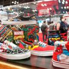 NYCC 2012: Vans shoes at the Marvel Booth