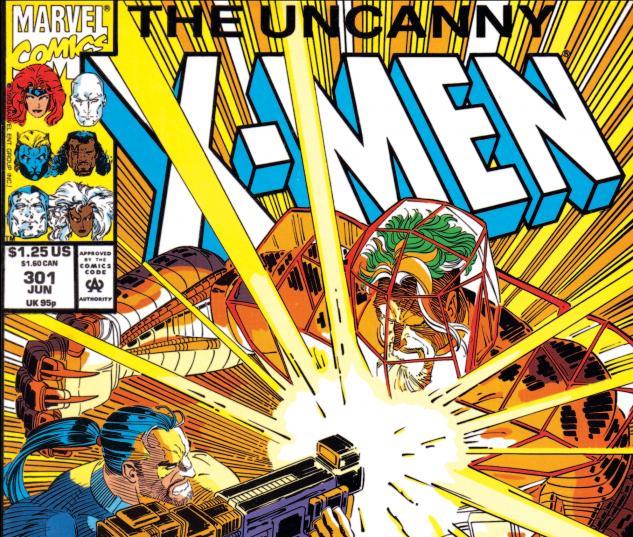 Uncanny X-Men (1963) #301 Cover
