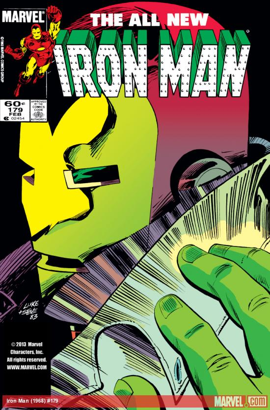Iron Man (1968) #179 Cover