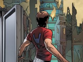 Spider-Man 2099 #1 preview art by Will Sliney