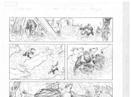 Red Wolf #1 preview pencils by Dalibor Talajic