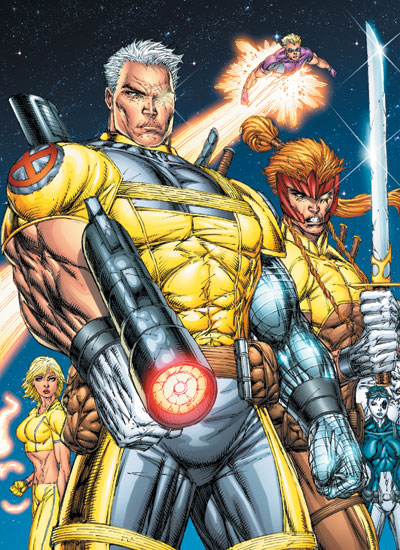 X Men Character Cable
