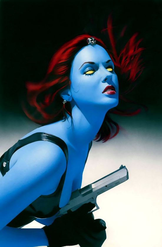 What about Mystique? — Marvel Heroes 2016