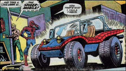 If Peter Parker had been bitten by a Portia spider SMCar