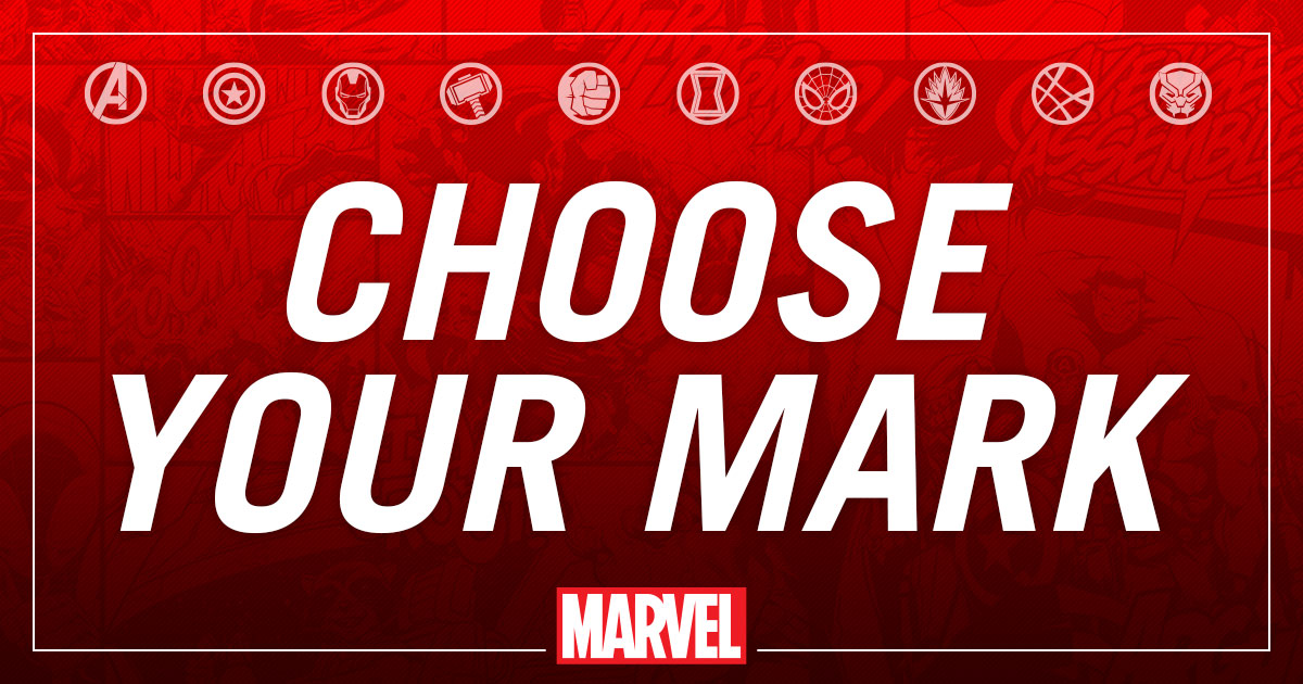 Marvel's Choose your mark | Quiz