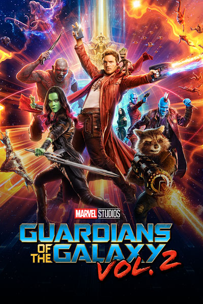 Marvel Studios' Guardians of the Galaxy Vol. 2 Movie Poster