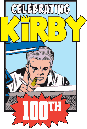 Jack Kirby: 100 Years logo