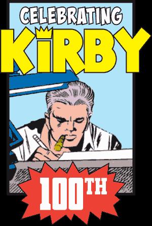 Jack Kirby: 100 Years logo