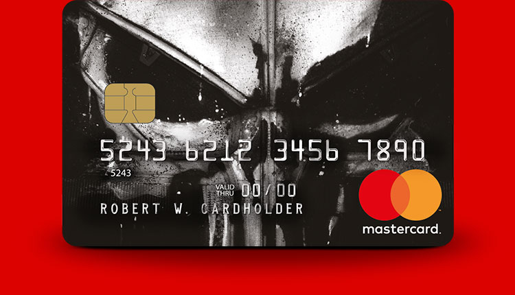 The Punisher Marvel Mastercard