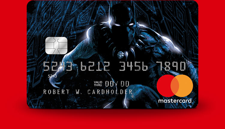Black Panther Marvel Mastercard