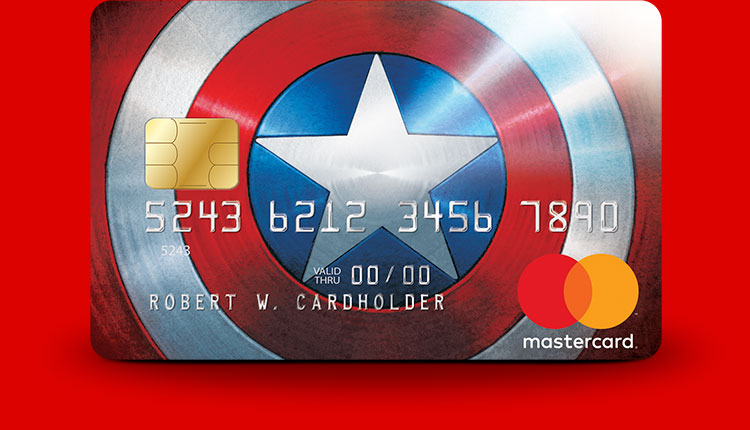 Captain America Marvel Mastercard