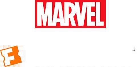 Marvel and Fandango Logo