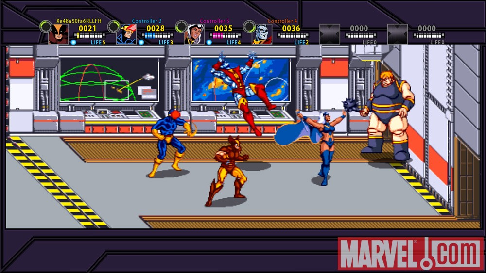 Old Marvel Games