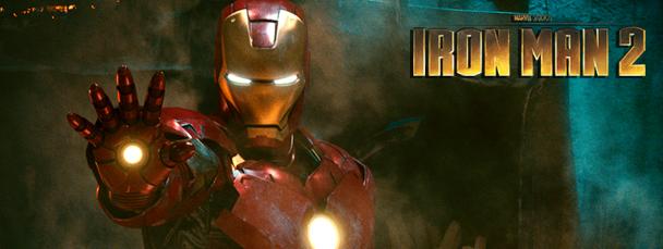 Resultado de imagem para iron man 2 banner