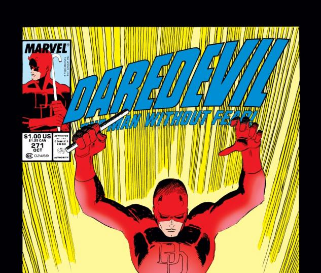 Daredevil (1963) #271 Cover