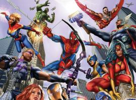 cover from Avengers (2012) #1 (HASTINGS VARIANT)