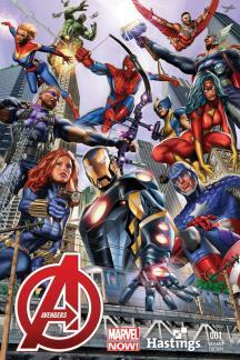 Avengers #1  (Hastings Variant)