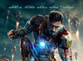 Robert Downey, Jr. takes the stage in a new poster for Marvel's Iron Man 3