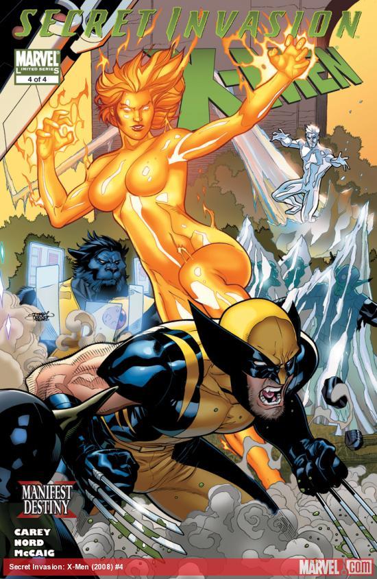Secret Invasion: X-Men (2008) #4
