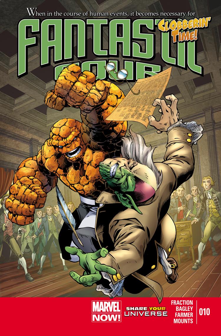 Fantastic Four (2012) #10