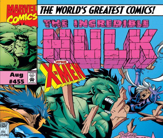 Incredible Hulk (1962) #455 Cover
