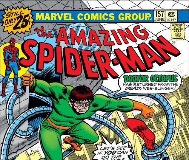 Amazing Spider-Man (1963) #157 Cover