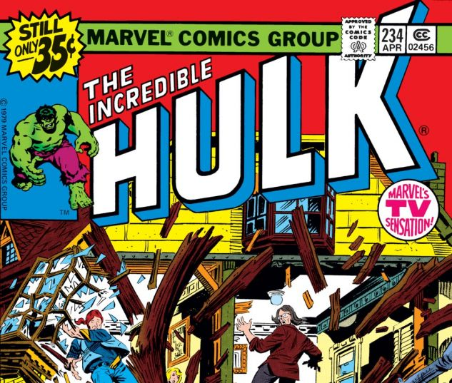 Incredible Hulk (1962) #234 Cover