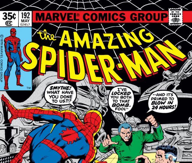 Amazing Spider-Man (1963) #192 Cover