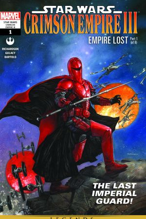 Star Wars: Crimson Empire Iii - Empire Lost #1