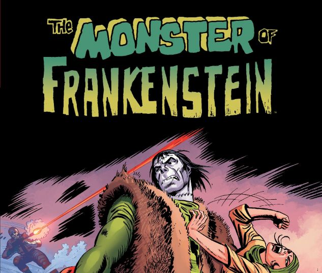 cover from Monster of Frankenstein (2015)