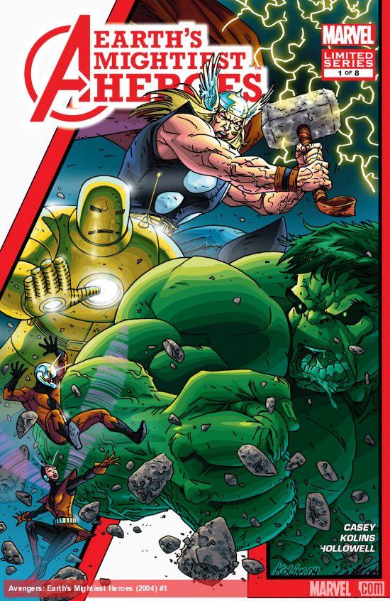 Avengers: Earth's Mightiest Heroes (2004) #1