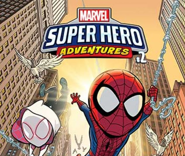 cover from Marvel Super Hero Adventures: Spider-Man - Across the Spider-Verse Infinite Comic (2019)