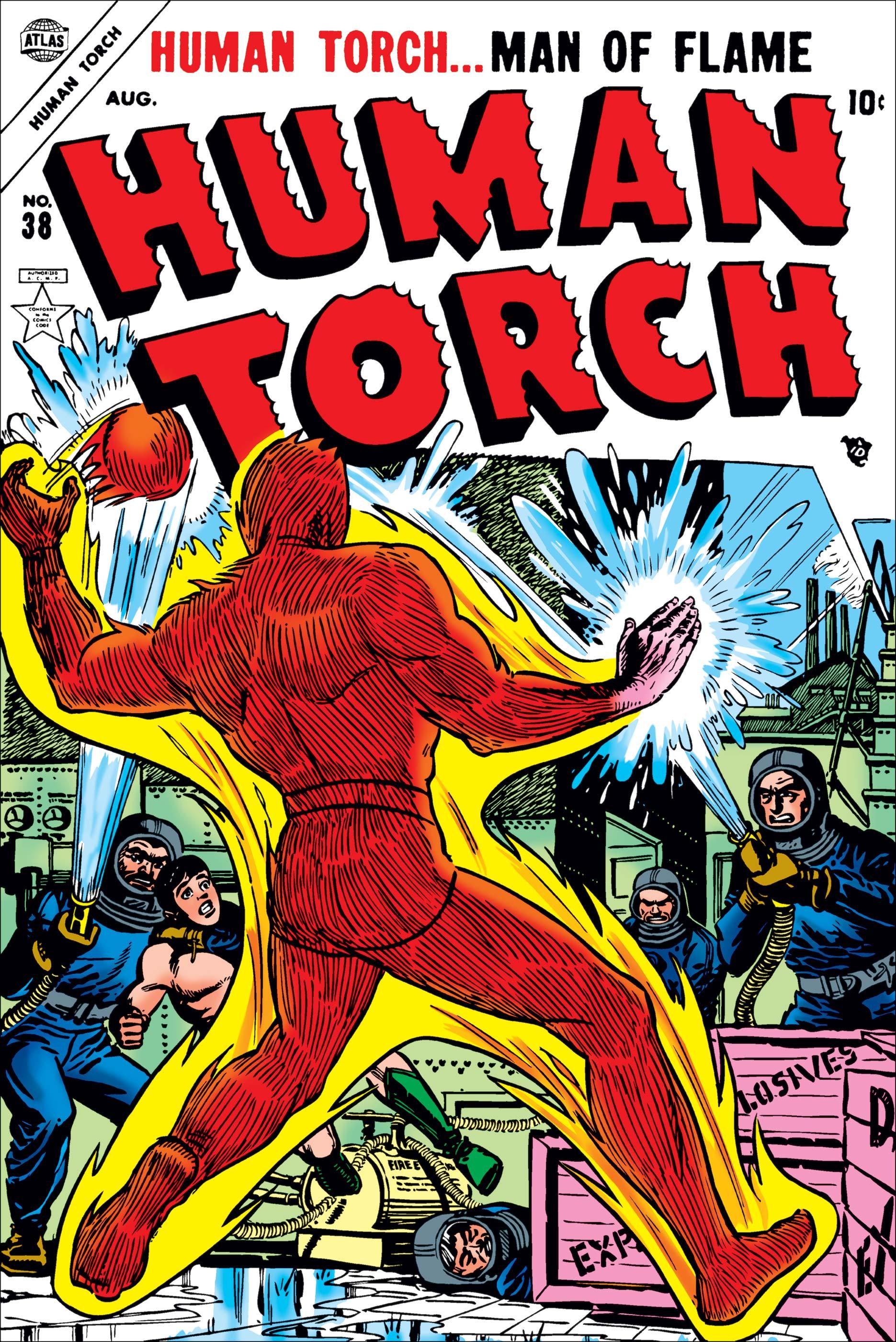 Human Torch Comics (1940) #38