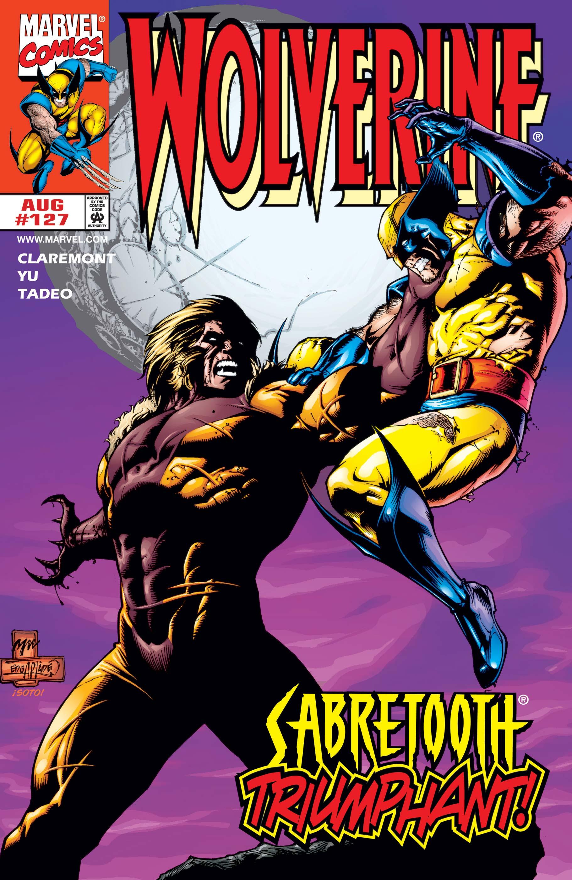 Wolverine (1988) #127